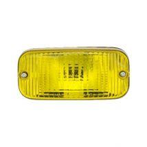 Dagrijverlichting 143 x 68 mm geel