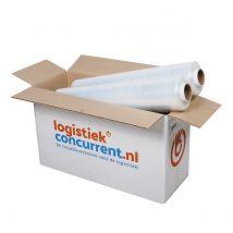 Handwikkelfolie Transparant 10 my 45 cm x 350 m Litewrapper®