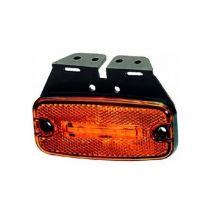 Markeringslamp Hella LED oranje 24V + 0,5m kabel