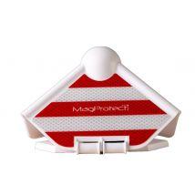 Hoekbeschermer MagProtect Rood/Wit 3M Reflectie, Magneet en Scharnier
