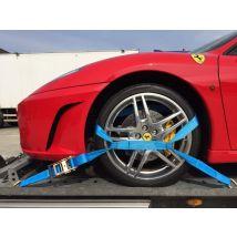 Autotransportspanband blauw Type TB 50 mm met tussenband