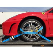 Autotransportspanband blauw Type TB 35 mm met tussenband