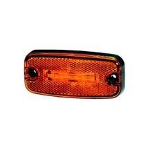 Zijmarkeringslamp oranje LED 24V Hella 500 mm kabel