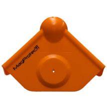 MagProtect oranje hoekbeschermer, vlak model zonder magneet