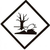 Milieugevaarlijke stoffen 100 x 100 mm zelfklevend papier op vel