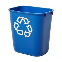 Rubbermaid papierbak blauw 27 liter