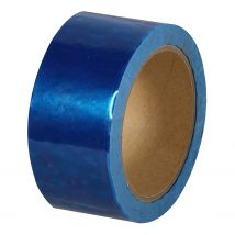 Security Tape Budget 50 mm x 50 meter blauw