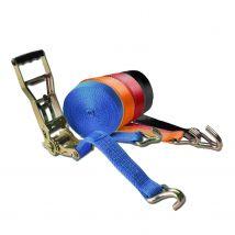 Spanband 50 mm 5 ton met ERGO ratel diverse kleuren