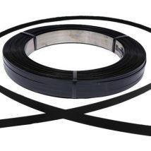 Staalband AW zwart gelakt 16x0,5 mm 42-50 kg/rol