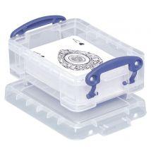 Really Useful Box - Visitekaarthouder - 0,2 liter - transparant