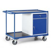 Werkplaatswagen 300 kg 1150 x 600 x 840 mm - lade + deur