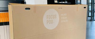Duurzame verpakking voor FocusPod