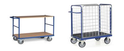Van tafelwagen tot pakketwagen