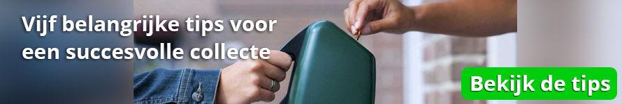 Vijf belangrijke tips voor een succesvolle collecte - Logistiekconcurrent