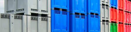 kunststof palletbox kleuren